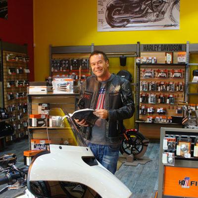 Pierre-David GUISSET - Concession Harley-Davidson Perpignan 66 France