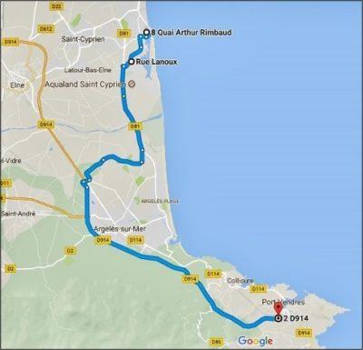 Balade Saint-Cyprien - Port-Vendres