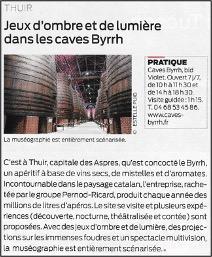Thuir, 66 Pyrénées Orientales - Caves de Byrrh