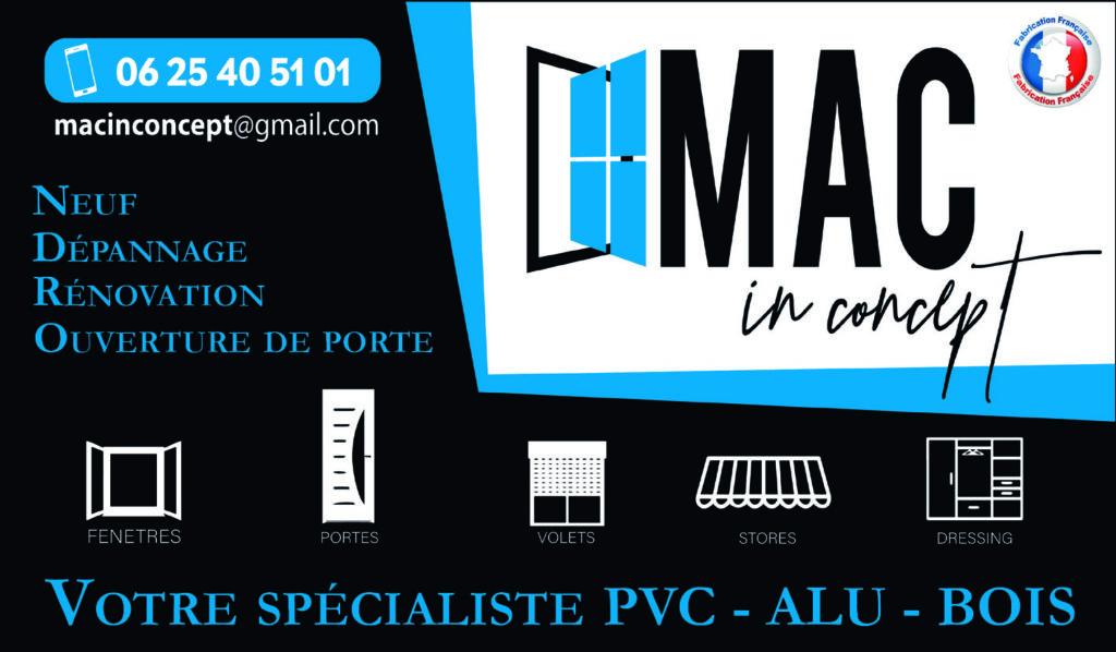 MAC in Concept, Thuir Le Soler 66 Pyrénées Orientales PVC ALU BOIS