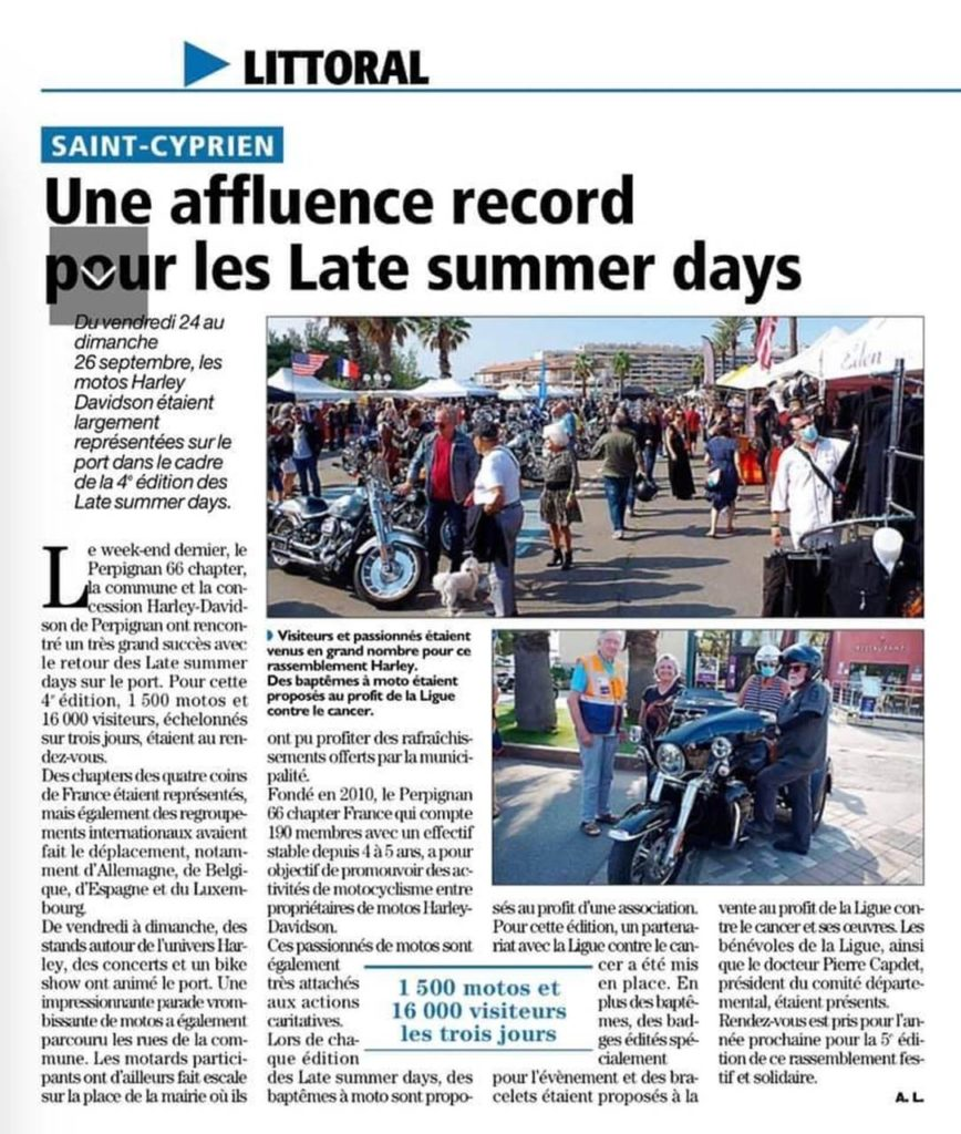 affluence record aux Late Summer Days 2021
